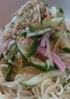 ズボラナムル冷麺