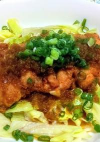 鶏ももと玉ねぎドレでサッパリ簡単油淋鶏