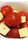 ミニトマトとチーズのマリネ