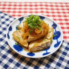 カツオの生姜焼き