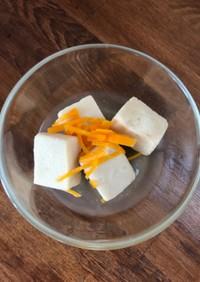 ふつうの高野豆腐の煮物