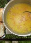【キャンプ飯】豆乳スープ