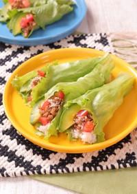 タコライス手巻き寿司
