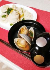 ホンビノス素麺