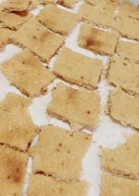 甘辛味噌味!柔らかおからクッキー*
