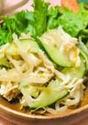 簡単ササミともやしとキュウリの中華サラダ