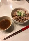 肉そばつけ麺(酸辣風)