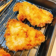塩麹で鶏胸肉の柔らかチキンカツの写真