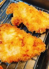 塩麹で鶏胸肉の柔らかチキンカツ