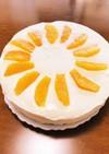 レアチーズケーキ☆簡単混ぜるだけ