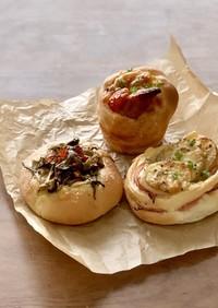 フープロでふんわり基本パン