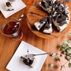 簡単オレオチーズケーキ 材料4つで作る
