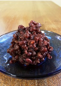 調理のすき間 小豆煮(あんこ)
