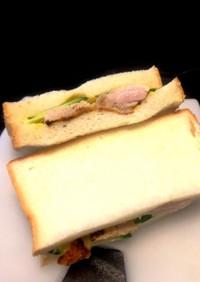 簡単チキンサンドイッチの作り方