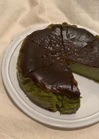 大人のバスクチーズケーキ(抹茶)