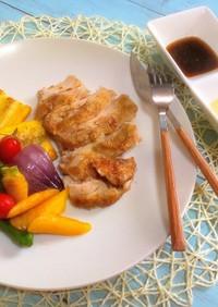 夏野菜のソテーバーニャカウダマヨソース