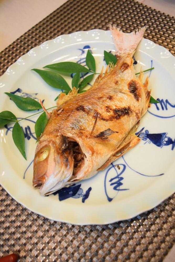 魚焼きグリルで手軽に☆鯛の姿焼き