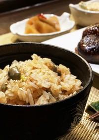 時短・簡単!茶豆とツナの炊き込みご飯