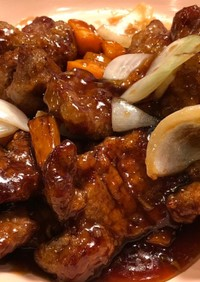 【濃厚】黒酢の酢豚【ご飯がすすむ】
