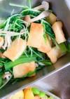 小松菜と水菜のお浸し