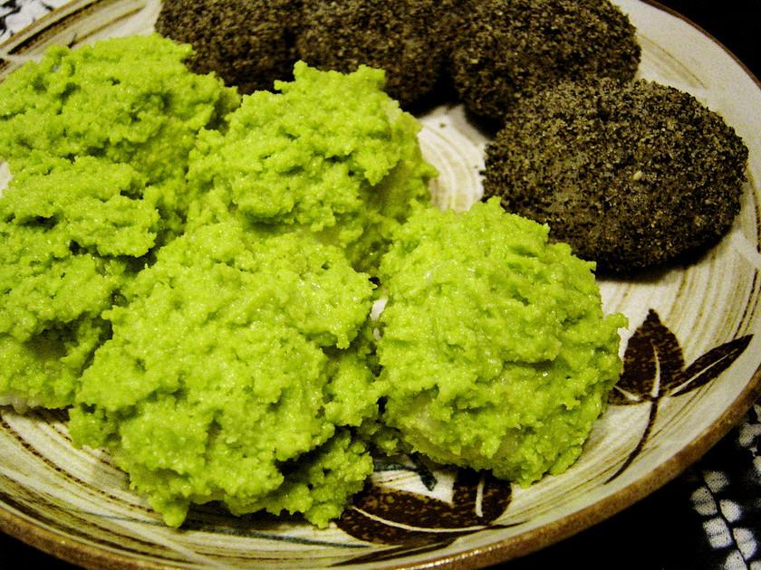 緑鮮やか♪クリーミーずんだ餅(おはぎ)