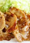 柔らかく焼ける豚の生姜焼き