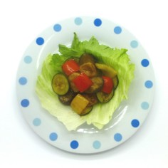 生麩レシピ なま麸と夏野菜炒め