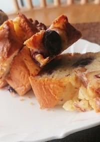 ★濃厚ブルーベリーチーズパウンドケーキ★