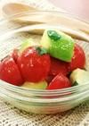簡単!ミニトマトとアボカドのマリネ