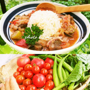 夏はケイジャン❤️オクラと夏野菜のガンボの写真