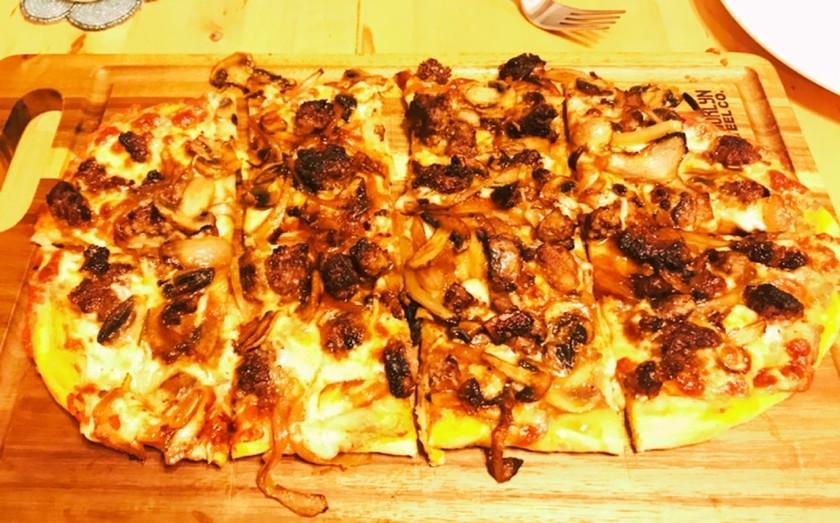 ピザ生地:フープロ使用 はかり不使用