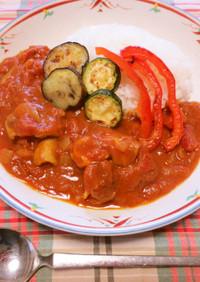 チキンと夏野菜のカレー