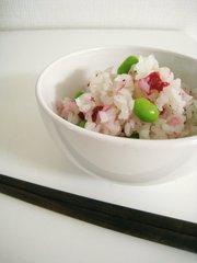 ☆梅と枝豆の混ぜご飯☆の写真