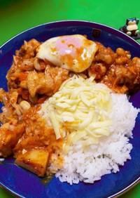 コストコのトマトソースで鶏胸肉の煮込み