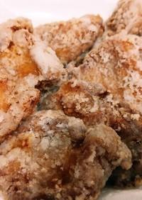 下味はポリ袋で!鶏むね肉の竜田揚げ
