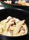 野菜の大量消費に◎ゴマ味噌豆乳鍋