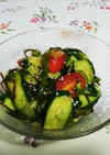 簡単☆夏野菜たっぷり塩昆布の浅漬け