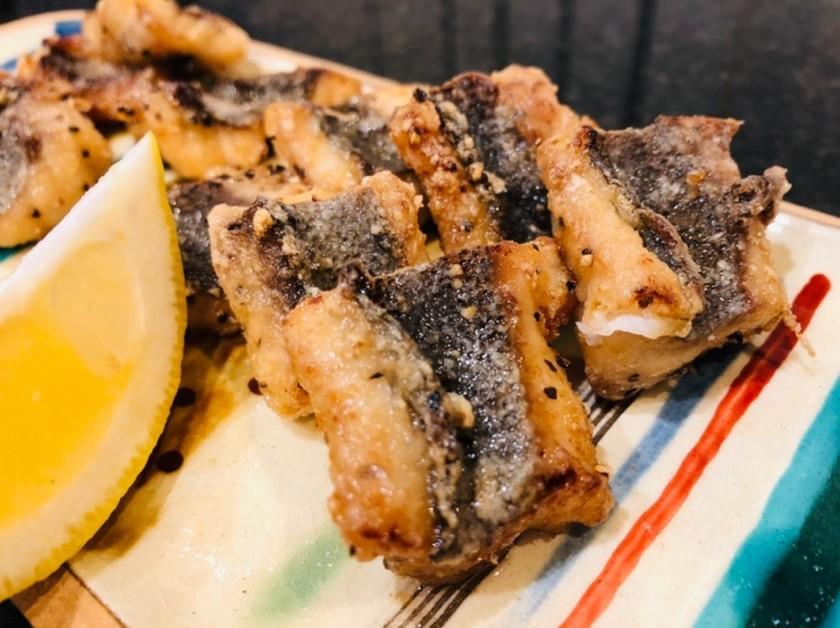 ブラックペッパーde白身魚の竜田揚げ*