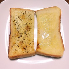 のっけるレモンペーストでトースト2種♡