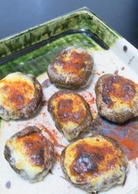GKグリルで時短簡単美味な椎茸のマヨ焼き