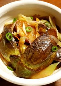 水茄子と茗荷のポン酢煮