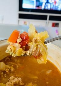 簡単すぎる!チキンキャベツスープ