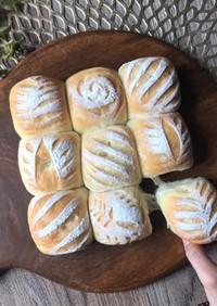 ふわふわミルクハースちぎりパン