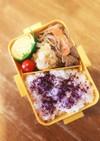 牛肉とゴボウの甘辛煮弁当