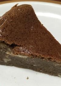 ミロで作るチョコレート風チーズケーキ