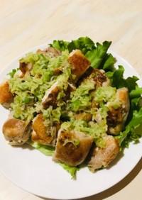 鶏モモ肉で簡単☆ネギ塩ダレチキン