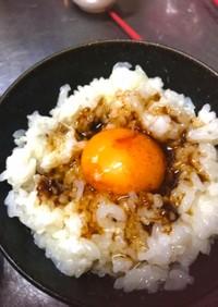 焦がしバターde卵かけご飯