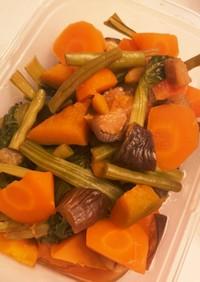 【炊飯器調理】冷めても美味しい野菜の甘煮