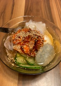 【白滝ダイエット】韓国水冷麺
