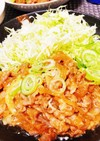簡単♡豚こま切れ肉の生姜焼き